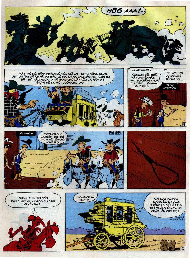 Lucky Luke tập 38 trang 13