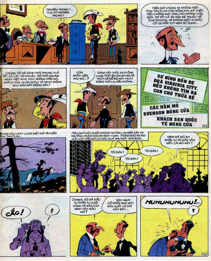 Lucky Luke tập 39 trang 31