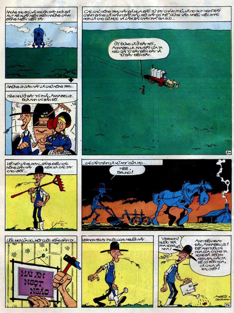 Lucky Luke tập 38 trang 2