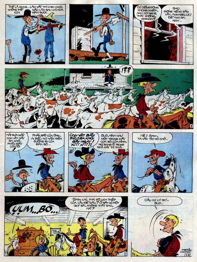 Lucky Luke tập 38 trang 3