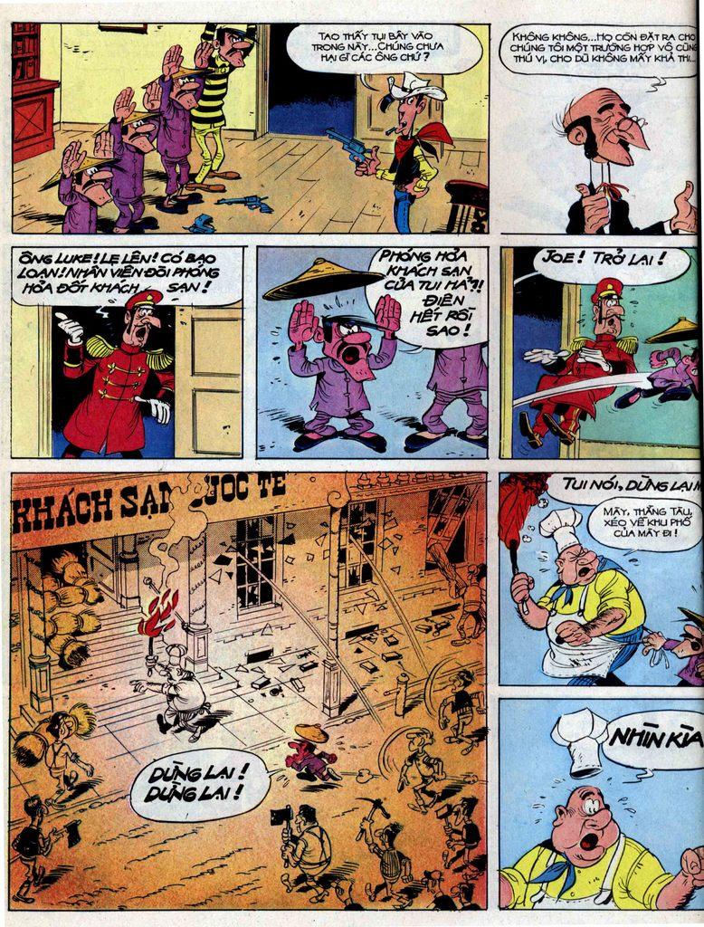 Lucky Luke tập 39 trang 38