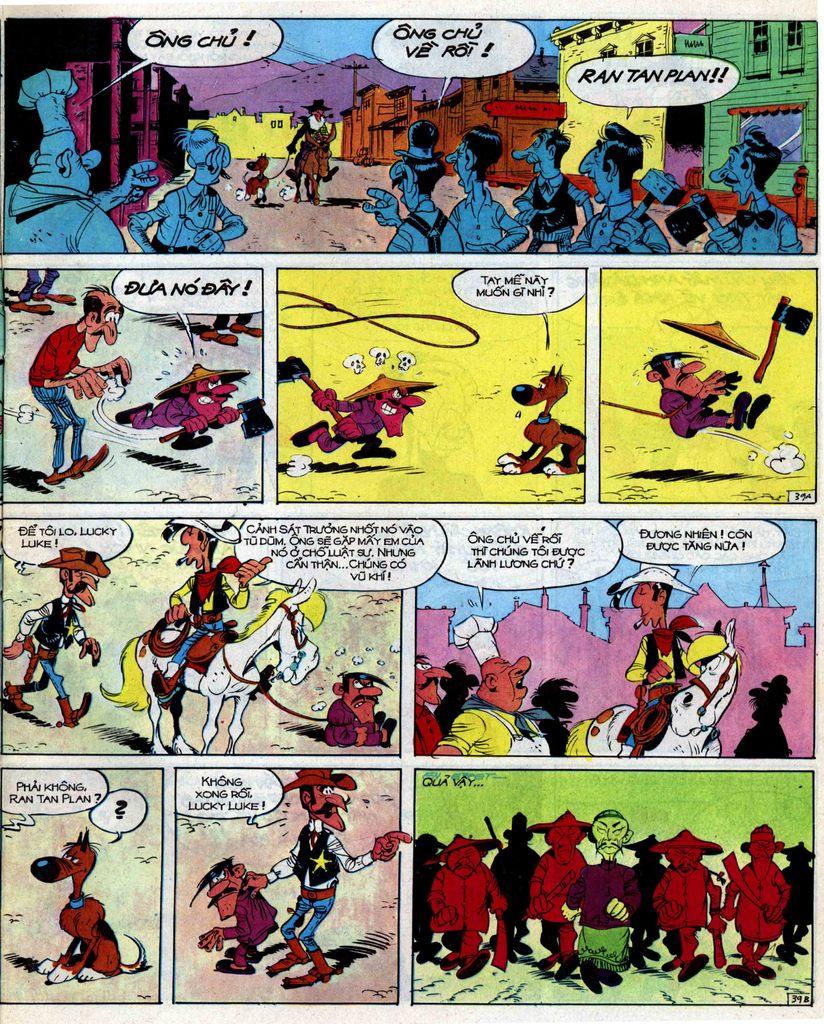 Lucky Luke tập 39 trang 39