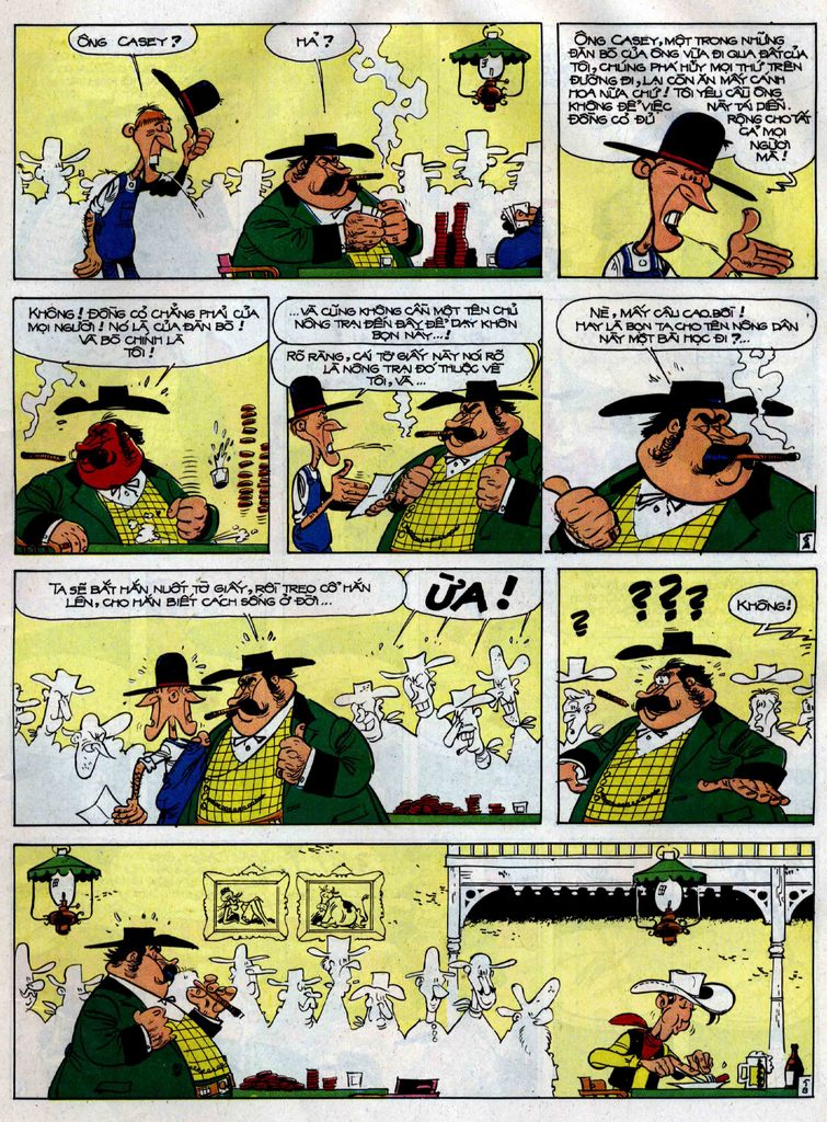 Lucky Luke tập 38 trang 5