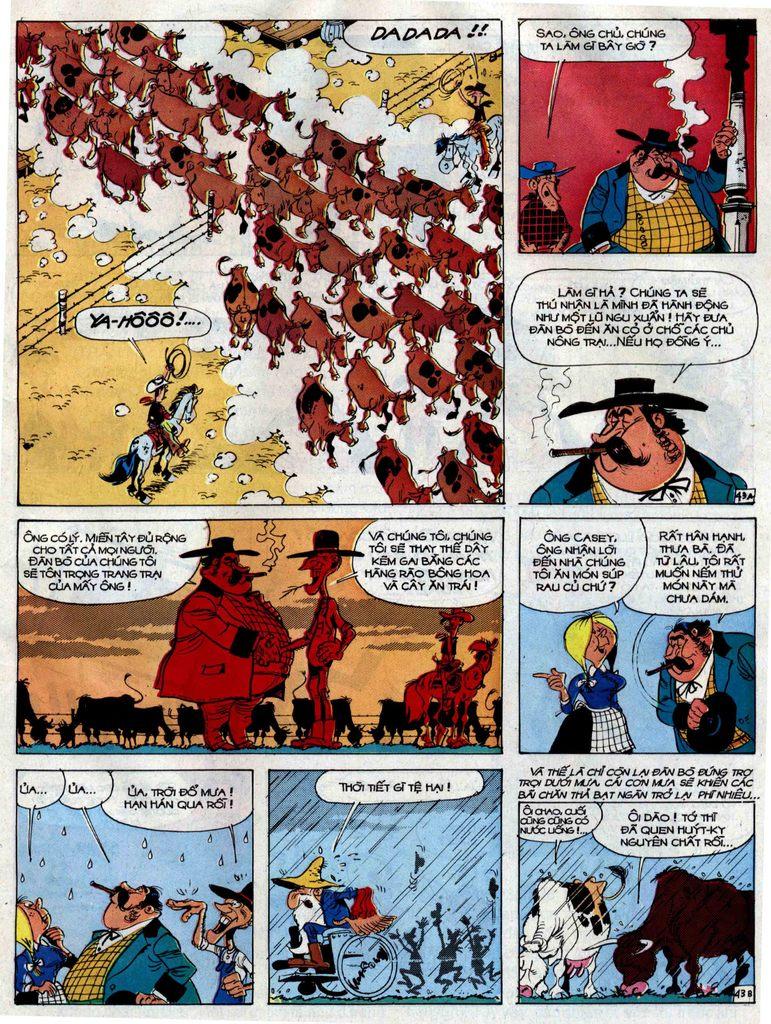 Lucky Luke tập 38 trang 43