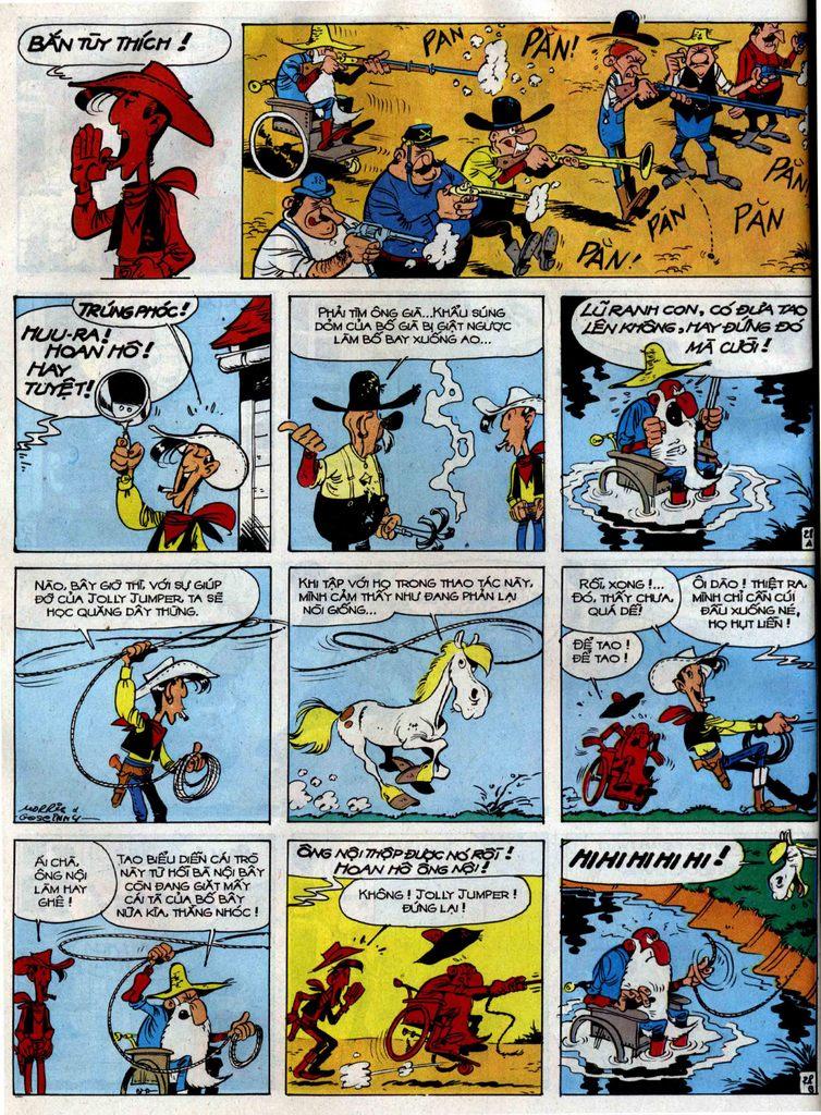 Lucky Luke tập 38 trang 28