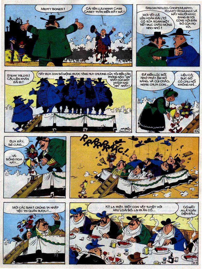Lucky Luke tập 38 trang 35