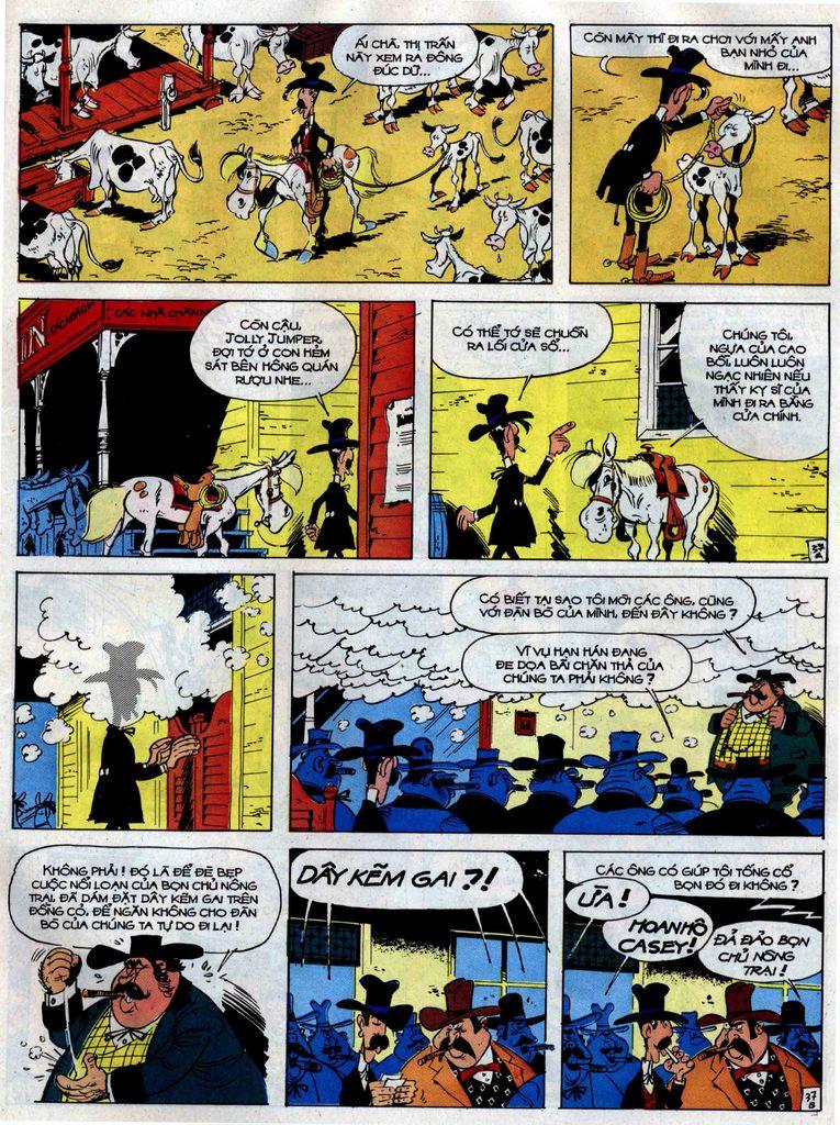 Lucky Luke tập 38 trang 37