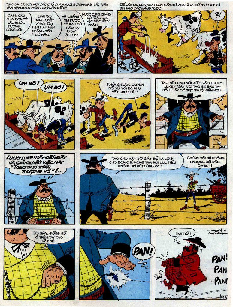 Lucky Luke tập 38 trang 41
