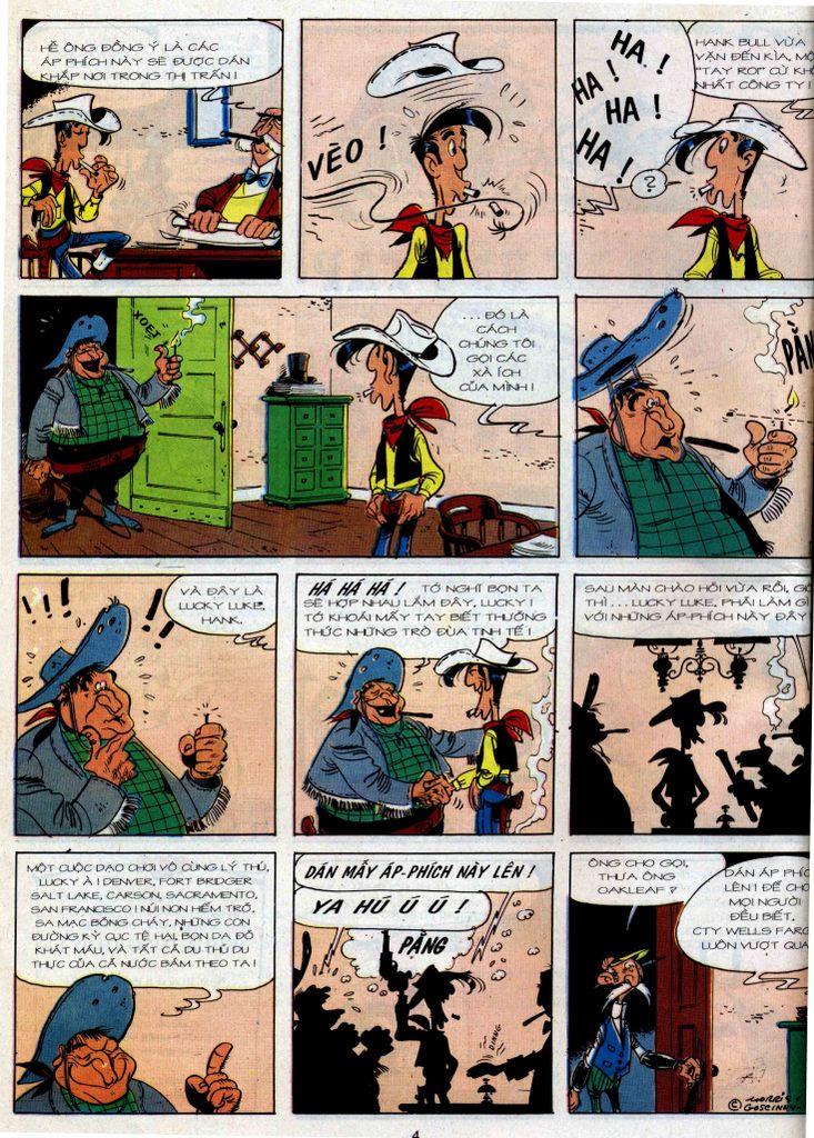 Lucky Luke tập 36 trang 2