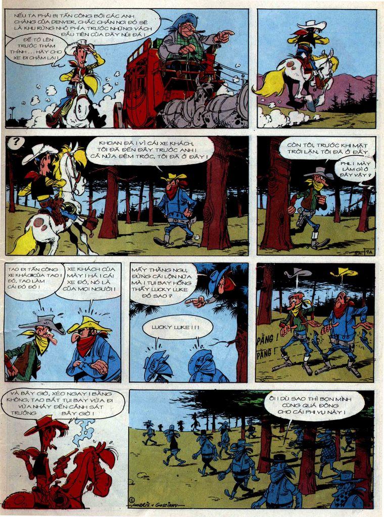 Lucky Luke tập 36 trang 9