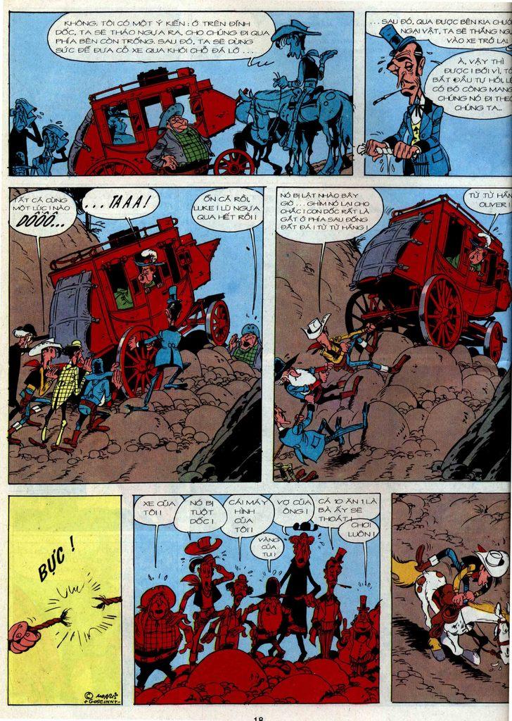 Lucky Luke tập 36 trang 16