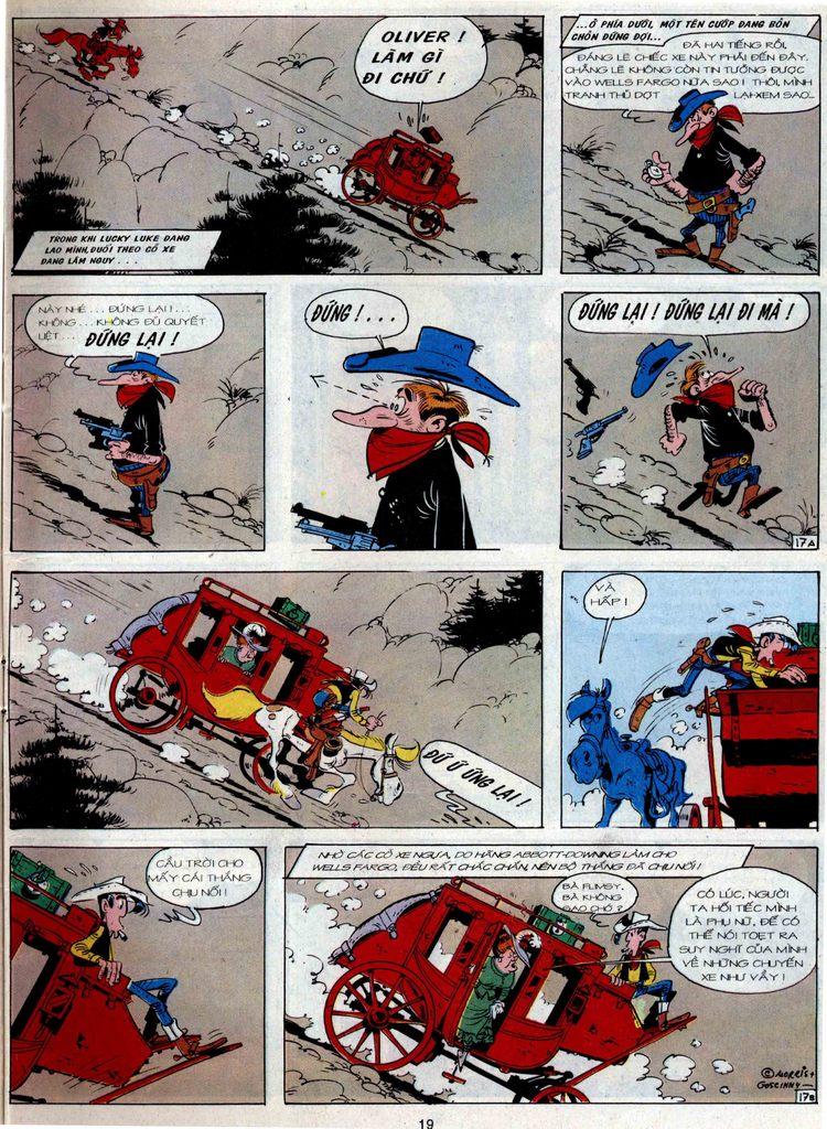 Lucky Luke tập 36 trang 17