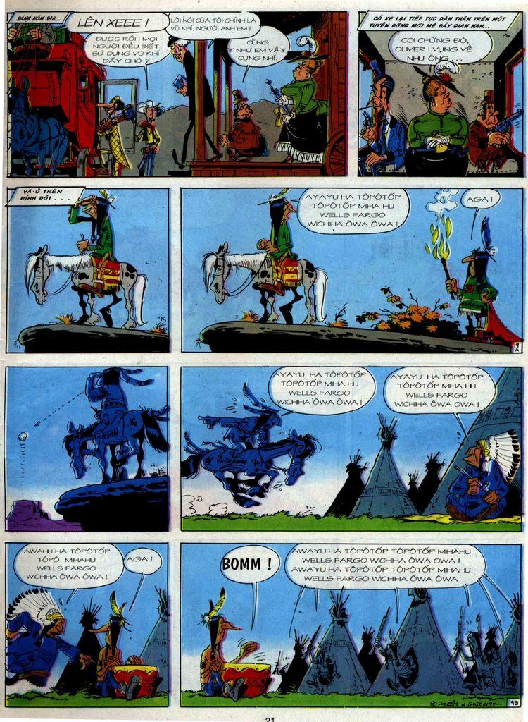 Lucky Luke tập 36 trang 19