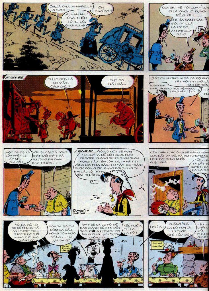 Lucky Luke tập 36 trang 18