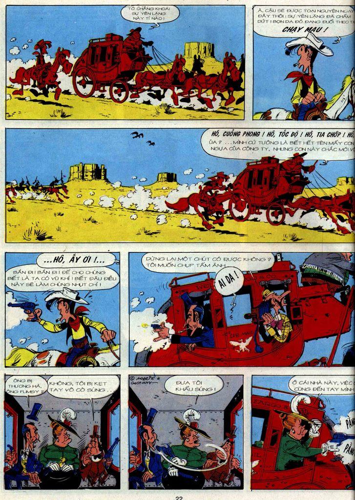 Lucky Luke tập 36 trang 20