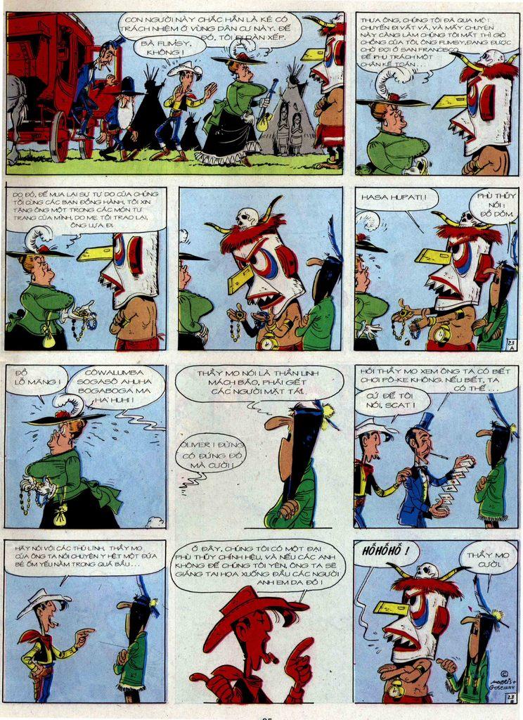 Lucky Luke tập 36 trang 23