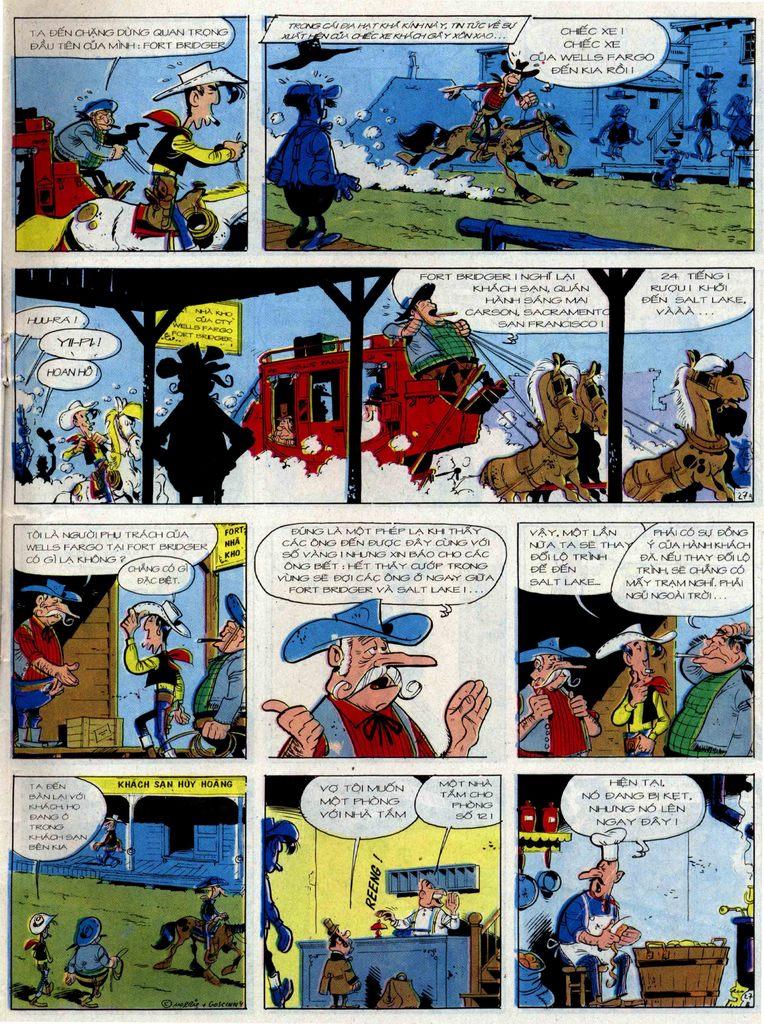 Lucky Luke tập 36 trang 27