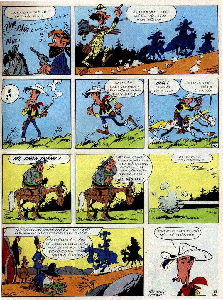 Lucky Luke tập 36 trang 33