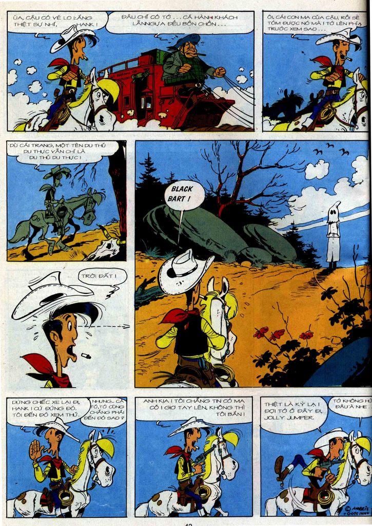 Lucky Luke tập 36 trang 40