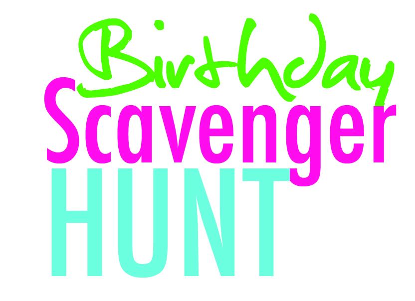 Adult Birthday Scavenger Hunt 70