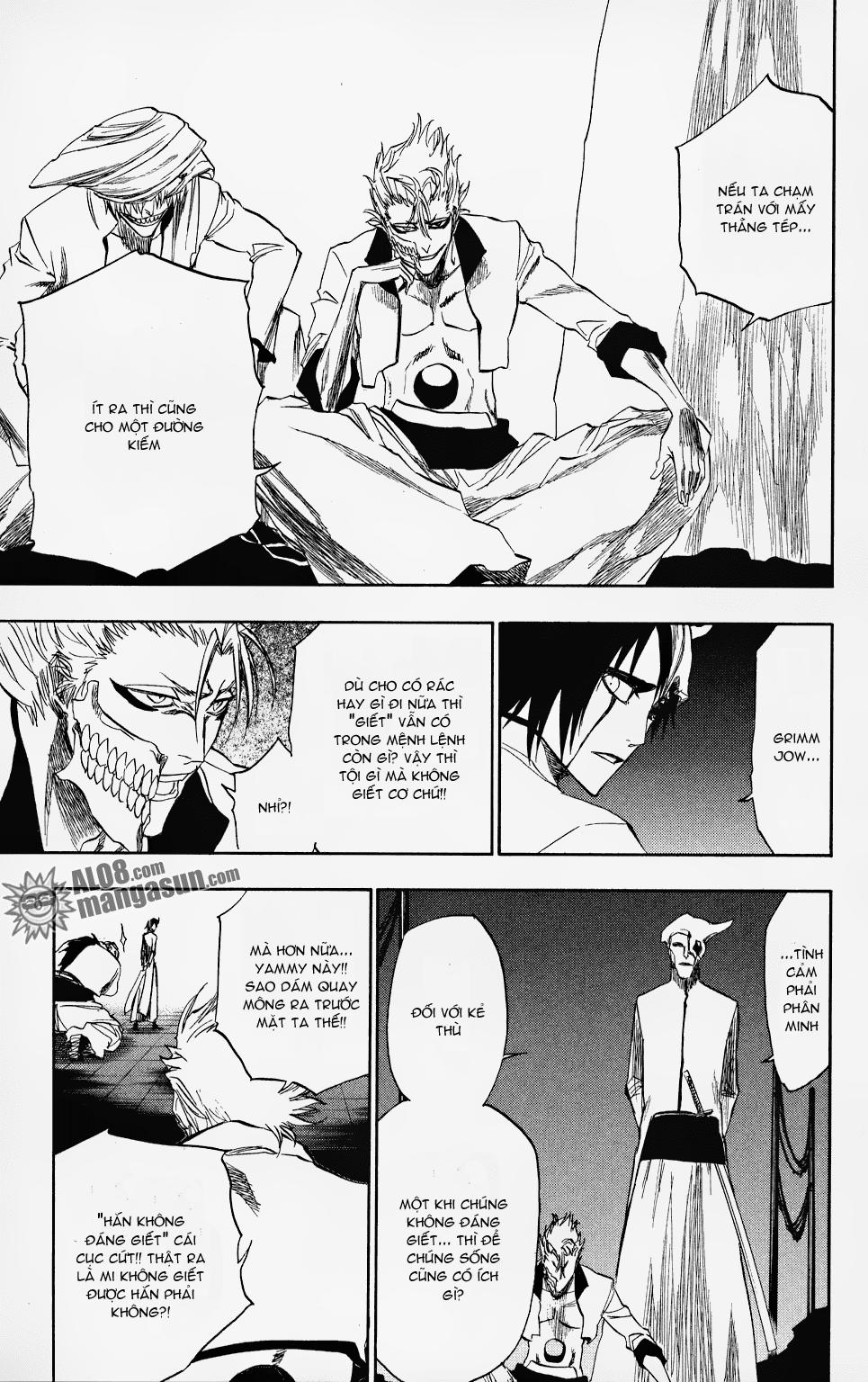Bleach chapter 198 trang 6