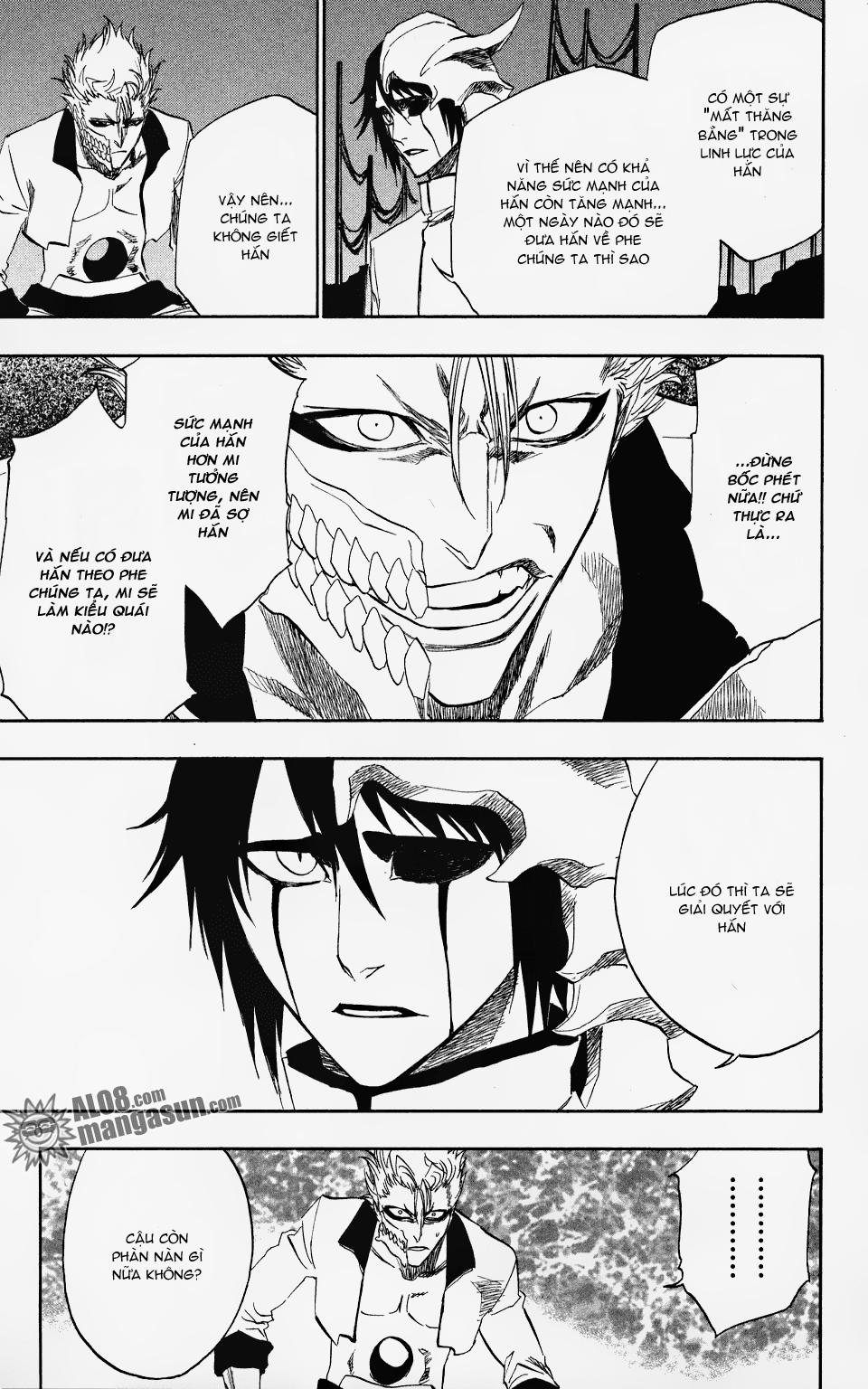 Bleach chapter 198 trang 8