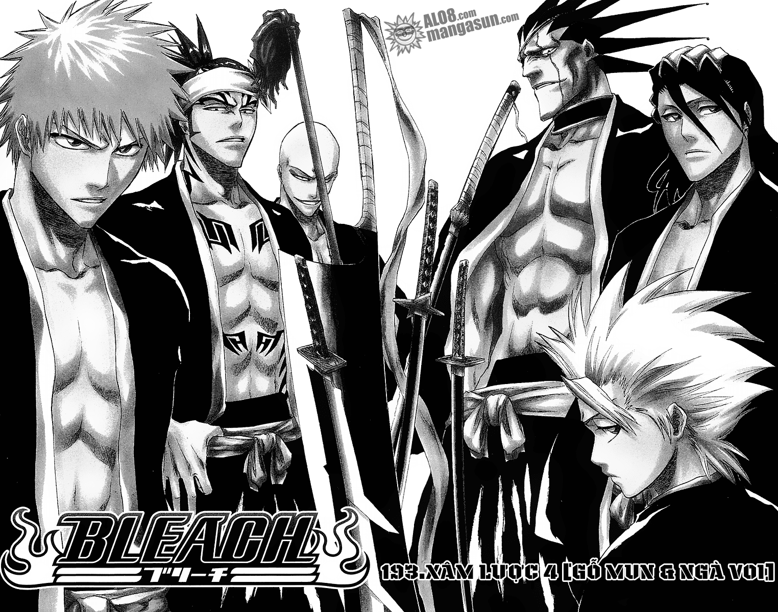 Bleach chapter 193 trang 24