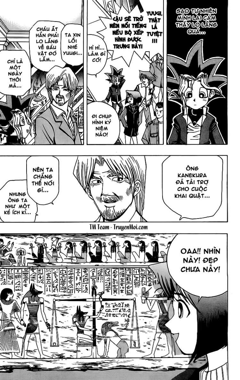YUGI-OH! chap 13 - người đàn ông đến từ ai cập trang 12