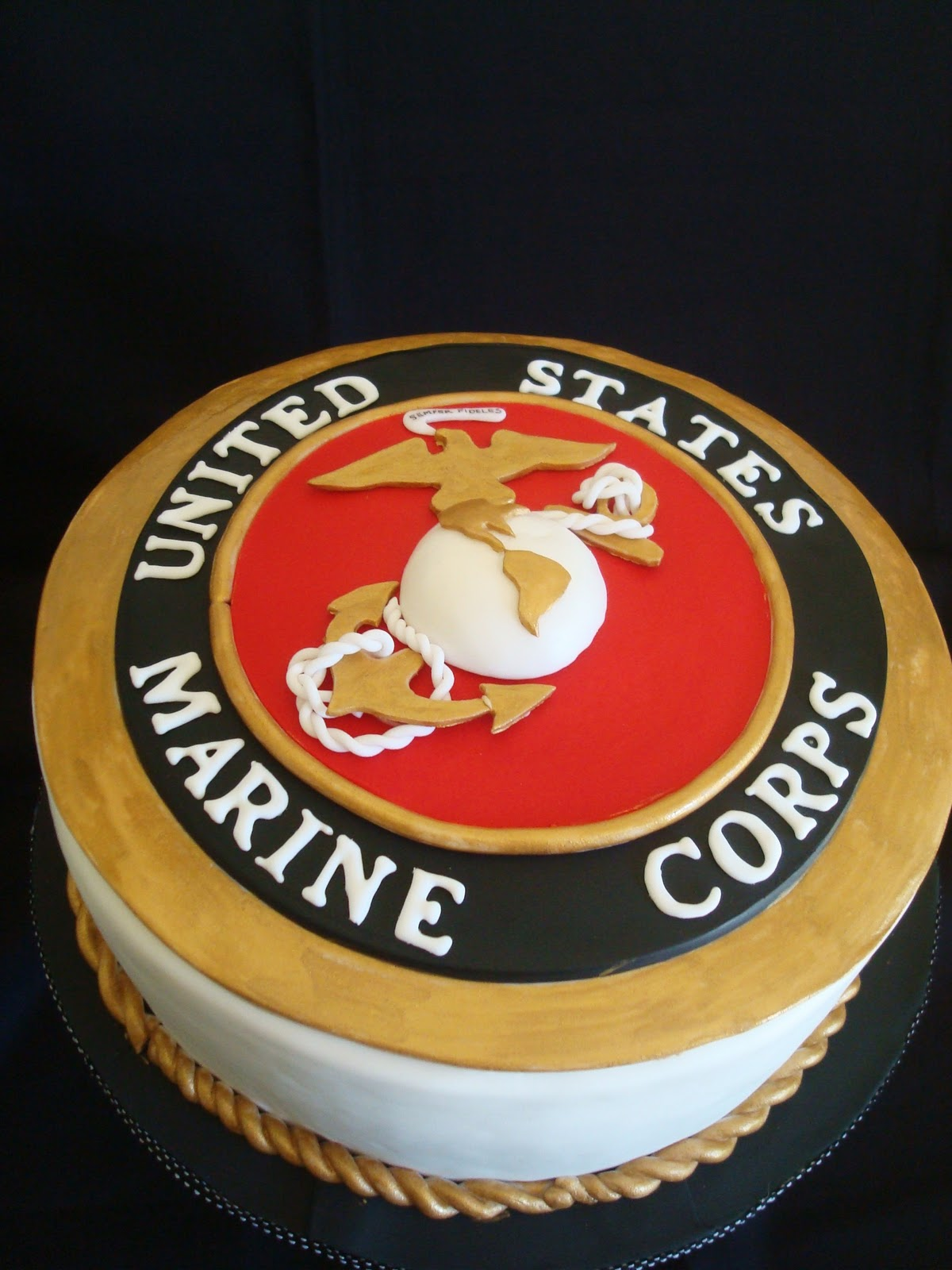 Usmc Birthday Cake Pictures