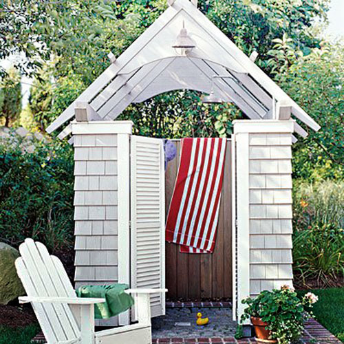 Bathroom Outdoor: Creative Outdoor Shower Designs Ideas