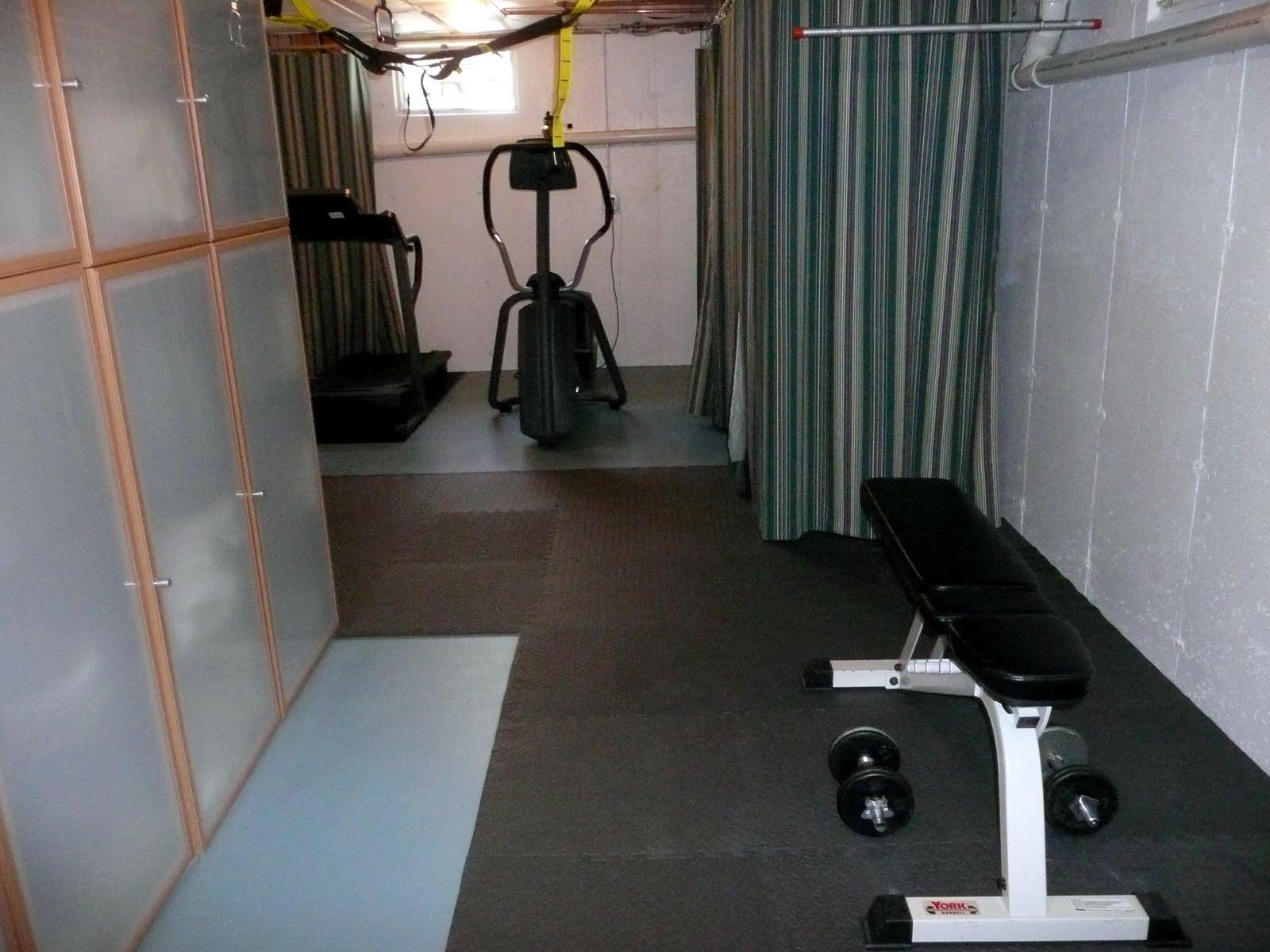 How I Set Up a Home Gym   SheKnows