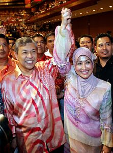 Image result for images of zahid hamidi and wife