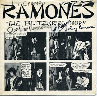kicksville 66: Ramones 1st single