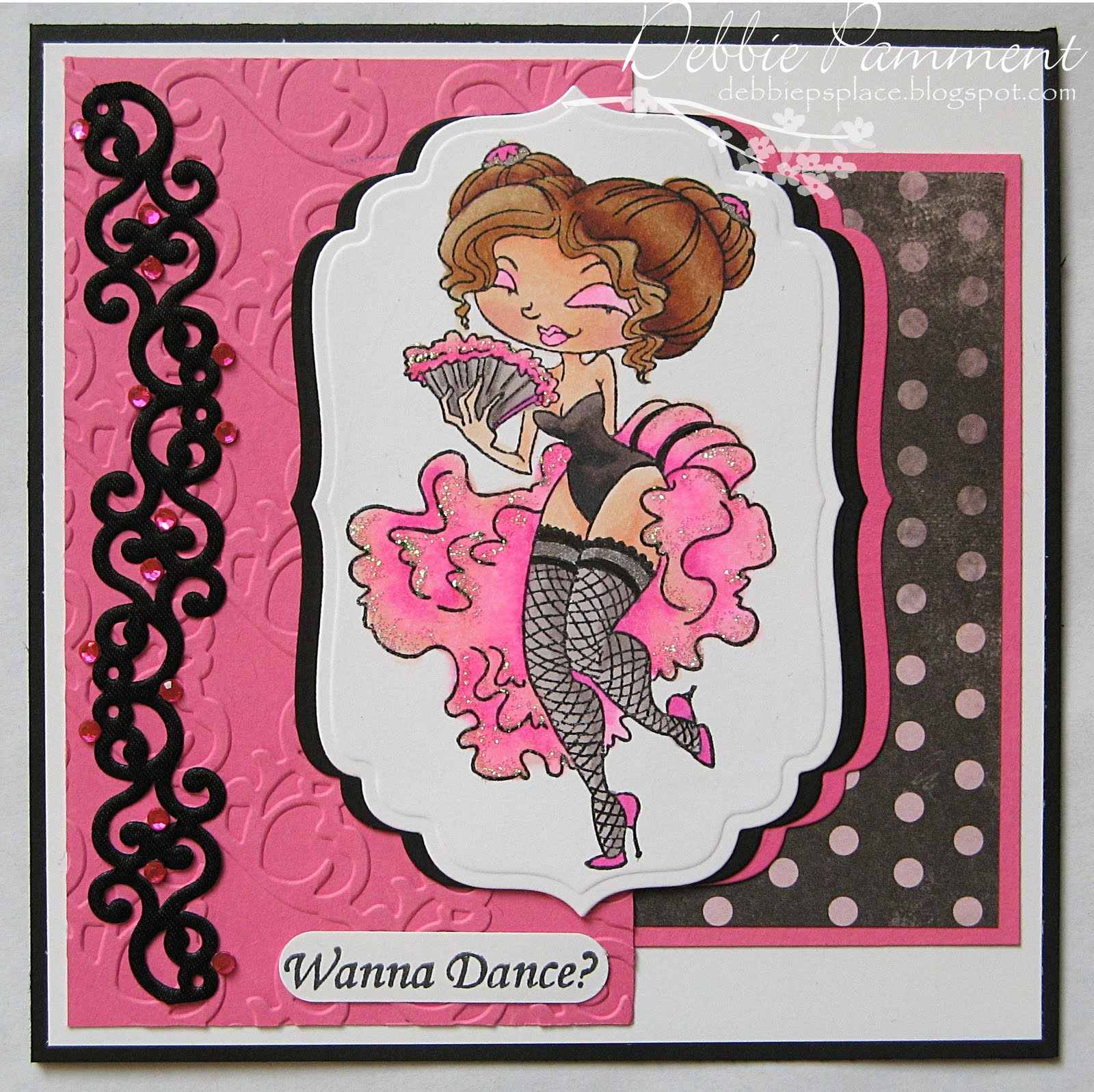 Debbie P S Place Introducing Tickled Pink Stamps