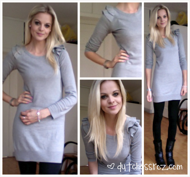 OOTDgreydress Girls Day Out OOTD