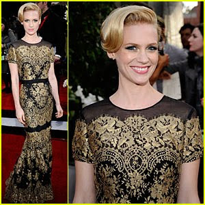 january jones sag awards 2011 745730 Best & Worst   2011 SAG Awards=