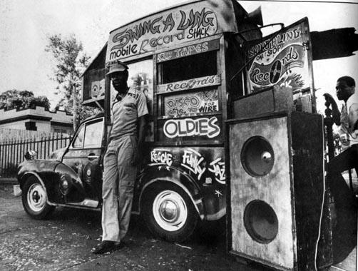 Sound system  Jamaican...