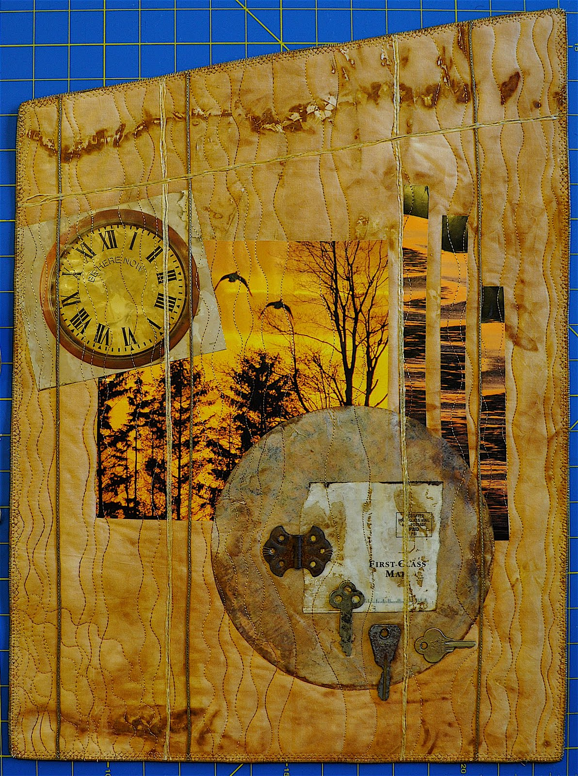 Luann Kessi Adventures In Mixed Media Art Quilts