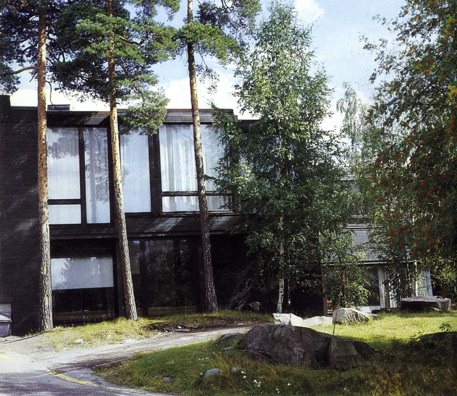 Hacedor de Trampas: Centro Dipoli de Reima y Raili Pietilä