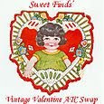 Sweet Finds Valentine ATC Book Swap