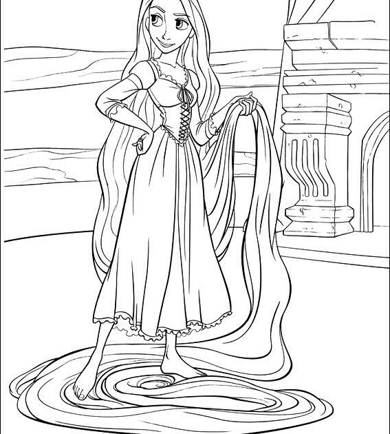alphabet coloring sheets: Tangled Coloring Pagesfree
