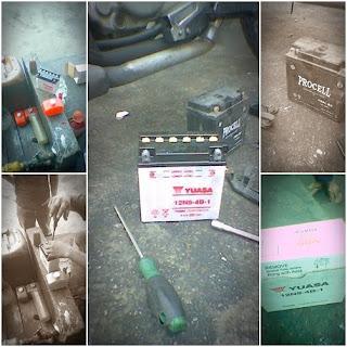 Modenas Jaguh 175 - Tanda-tanda Bateri Mahu Rosak?