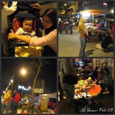 Aktiviti Perniagaan Di Bazar JB
