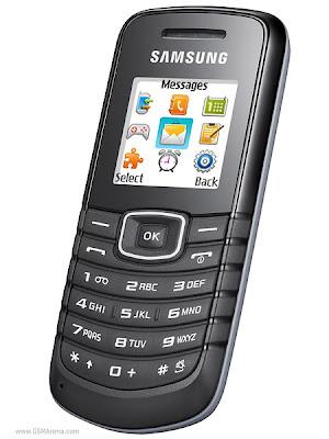 Samsung GT-E1080F - Review
