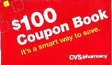 100 coupon book at cvs