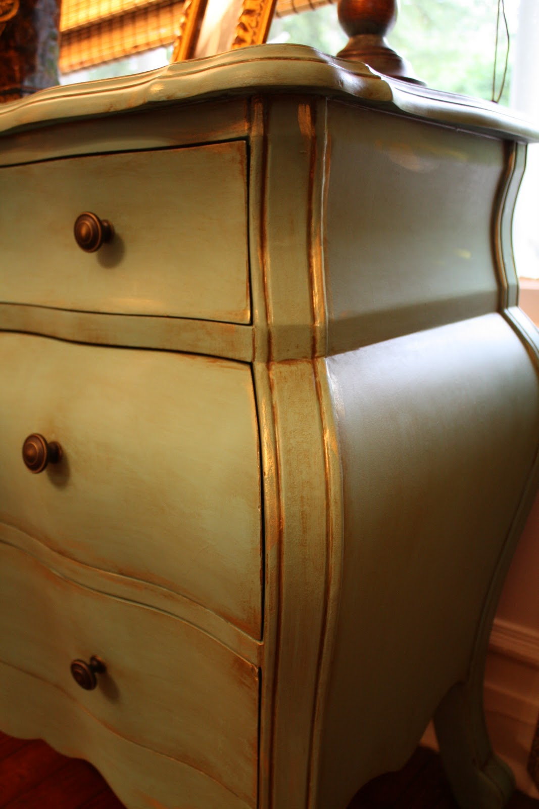 our southern nest painted chest redo. Black Bedroom Furniture Sets. Home Design Ideas