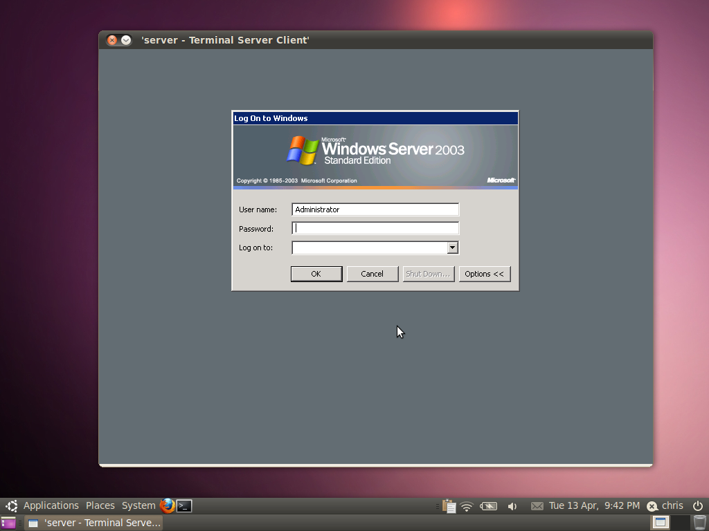 Remote Desktop with built in RDP client