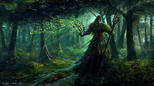 Znalezione obrazy dla zapytania słowianie mitologia