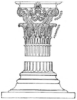 P'once A Little Time: Greek Columns Coloring Pages