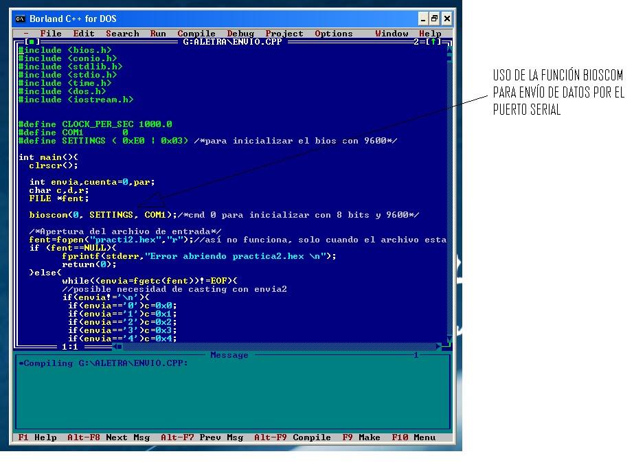 Bootloader para memoria FLASH: Desarrollo del software
